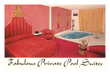 Deluxe Hotel Suite with Pool, Retro Prints