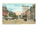 Fayetteville Street, Raleigh, North Carolina Prints