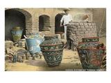 Potters of Tonala, Mexico Prints