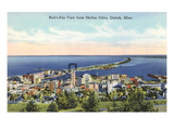 Aerial View of Duluth, Minnesota Print