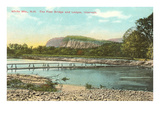 Foot Bridge, White Mountains, New Hampshire Posters