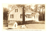 Stephen Foster Cottage, Dearborn, Michigan Print