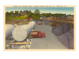 Coal Yards, Asheville, North Carolina Prints