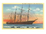 Sindia, Full-Rigged Clipper, Ocean City, New Jersey Posters