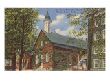 Home Moravian Church, Winston-Salem, North Carolina Prints