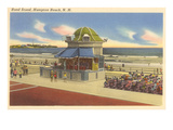 Bandstand, Hampton Beach, New Hampshire Art