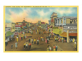 Boardwalk, Wildwood-by-the-Sea, New Jersey Poster
