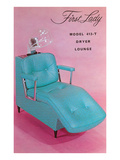 Lounge Chair for Hair Dryer Posters