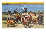 Apache Devil Dancers Prints