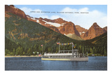 Waterton Lake, Glacier Park, Montana Prints