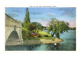 Lake of the Isles, Minneapolis, Minnesota Prints