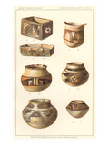 Hopi Ceramics from Sikyatki Prints