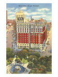 Hotel Tuller, Detroit, Michigan Prints