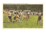 Cherokee Stickball, North Carolina Print
