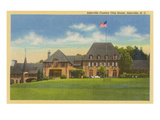 Country Club, Asheville, North Carolina Prints