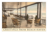 Greetings from Beach Haven, New Jersey Prints