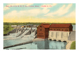 Dam, Croton, Michigan Prints