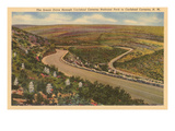 Road near Carlsbad Caverns, New Mexico Posters