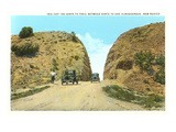 La Bajada Hill near Santa Fe, New Mexico Poster