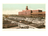Mercado de ganado, Kansas City, Misuri Pósters