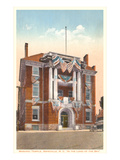 Masonic Temple, Asheville, North Carolina Poster