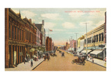 Second Street, Hastings, Nebraska Prints