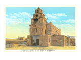 San Miguel Church, Santa Fe, New Mexico Posters
