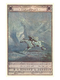 Schubert Lieder Erlkonig - Poster