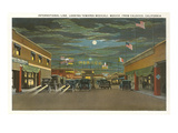 Border at Tijuana, Twenties Print