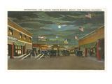 Border at Tijuana, Twenties Poster