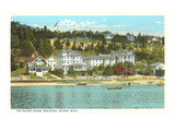 Island House, Mackinac Island, Michigan Prints