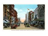 Nicolet Avenue, Minneapolis, Minnesota Prints