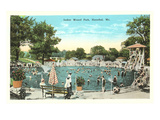 Indian Mound Park, Hannibal, Missouri Poster