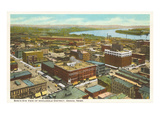 Wholesale District, Omaha, Nebraska Print