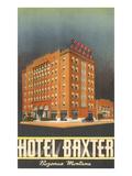 Hotel Baxter, Bozeman, Montana Prints
