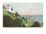 Mission Point, Mackinac Island, Michigan Poster