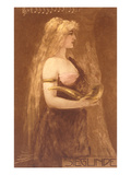 Sieglinde from Die Nibelungen Prints