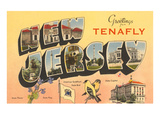 Greetings from Tenafly, New Jersey Posters