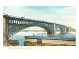 Eads Bridge, St. Louis, Missouri Print