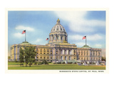 State Capitol, St. Paul, Minnesota Poster