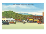 Business District, Black Mountain, North Carolina Art