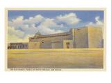 Old Church, Santo Domingo Pueblo, New Mexico Art