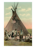 Plains Indians Tepee Posters