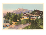 Lake McDonald Hotel, Glacier Park, Montana Prints