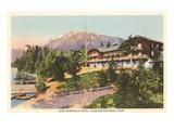 Lake McDonald Hotel, Glacier Park, Montana Posters