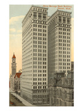 Dime Savings Bank Building, Detroit, Michigan Art