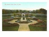 Parterre-Anlage, Como-Park, St. Paul, Minnesota Kunstdrucke