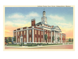 Jackson County Courthouse, Independence, Missouri Print