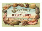 Souvenir from Jersey Shore, New Jersey Prints