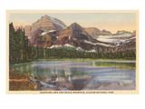 Josephine Lake, Glacier Park, Montana Posters